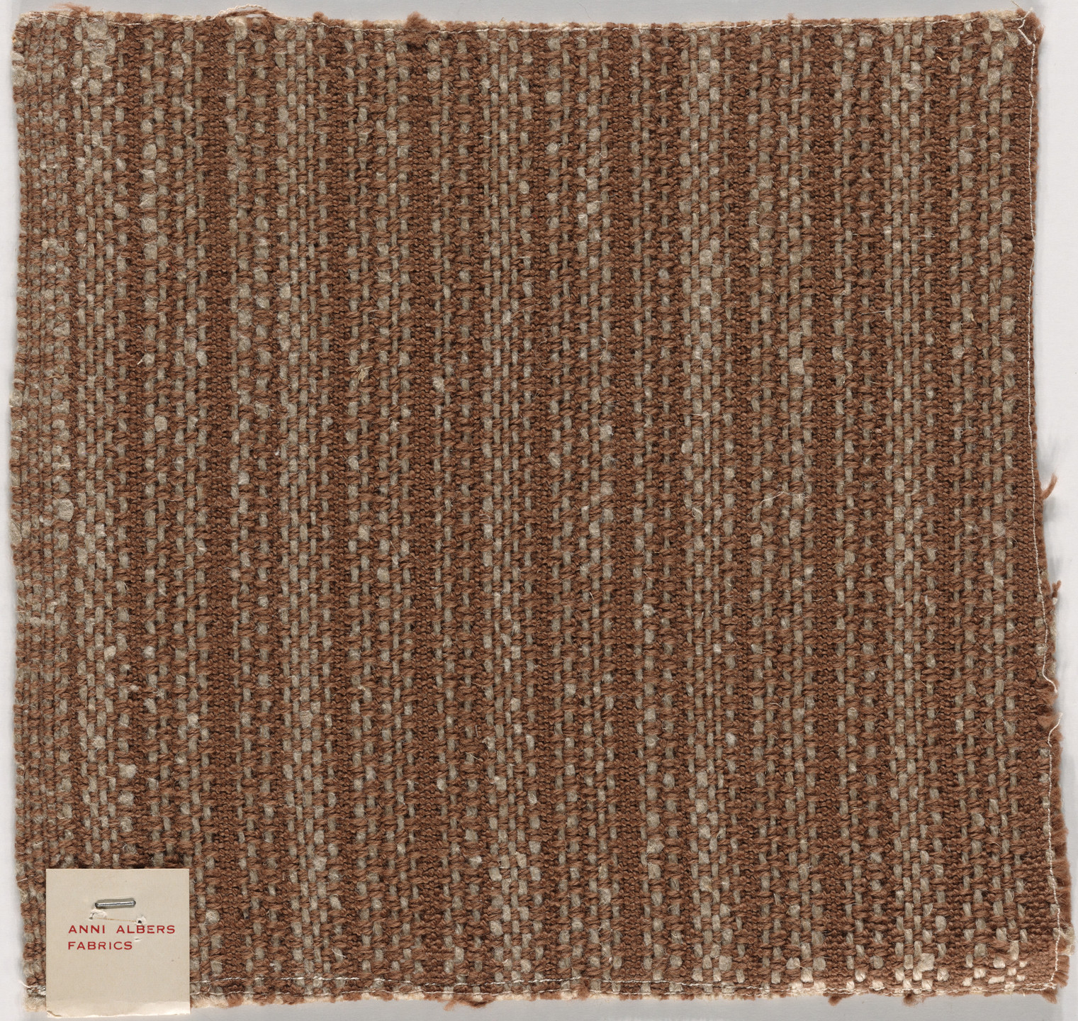 Anni Albers. Room-Dividing Curtain Material for Harvard Graduate Center Dormitory. 1950