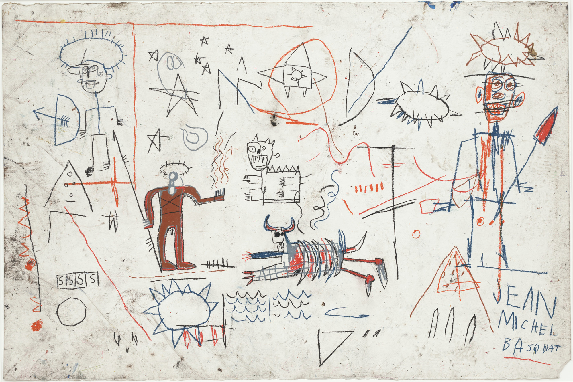 Jean-Michel Basquiat. Untitled. 1981