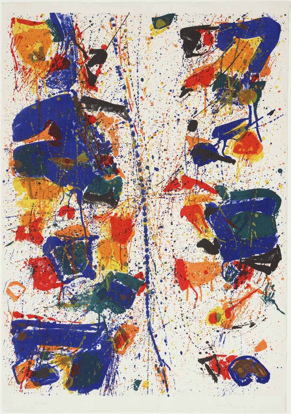 Sam Francis. The White Line. 1960