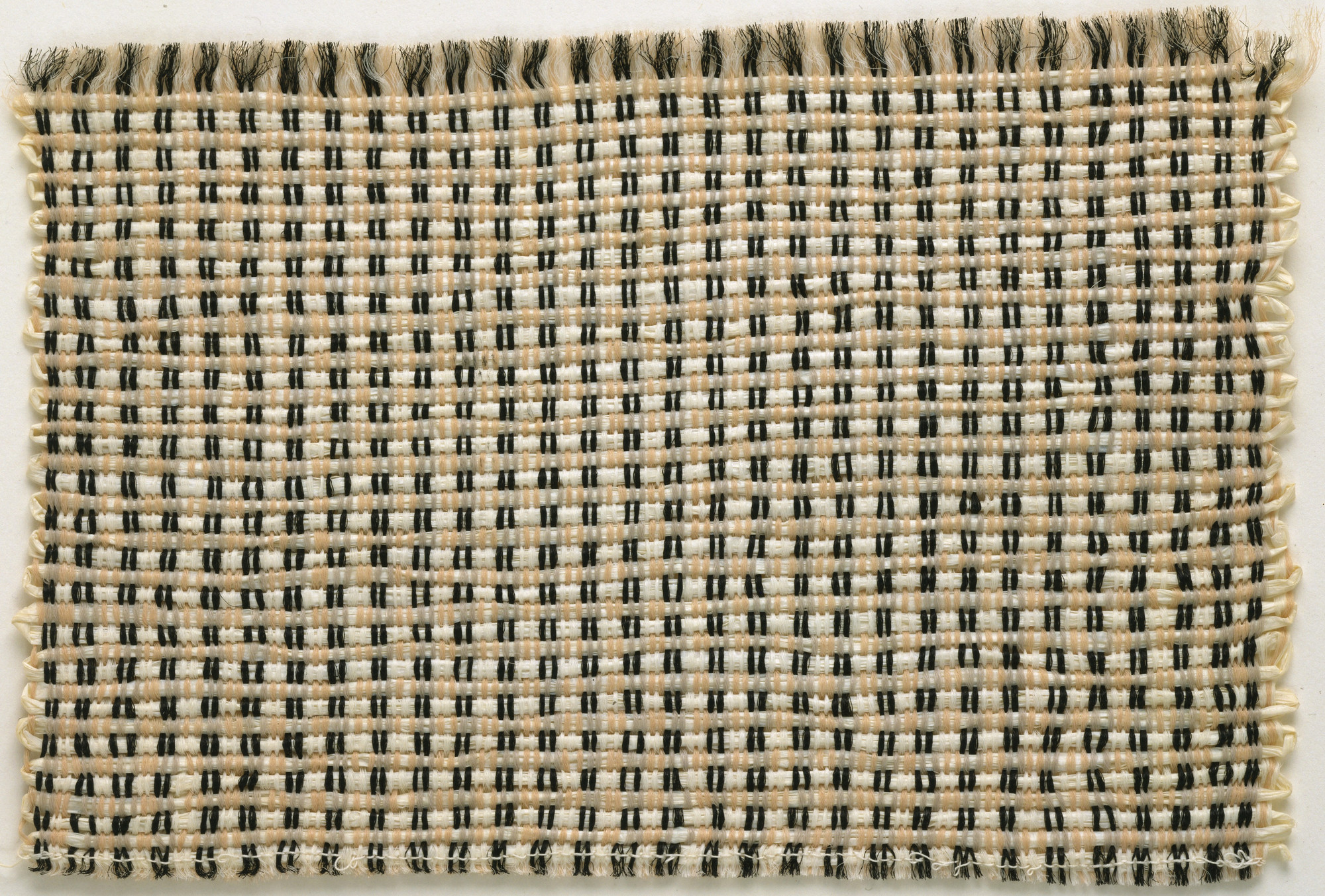 Anni Albers. Wall-Covering Fabric Sample. After 1933