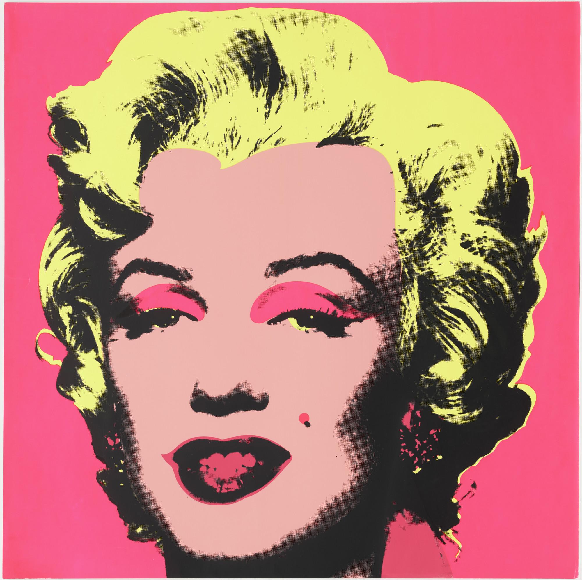 Andy Warhol Marilyn Monroe 1967 Moma