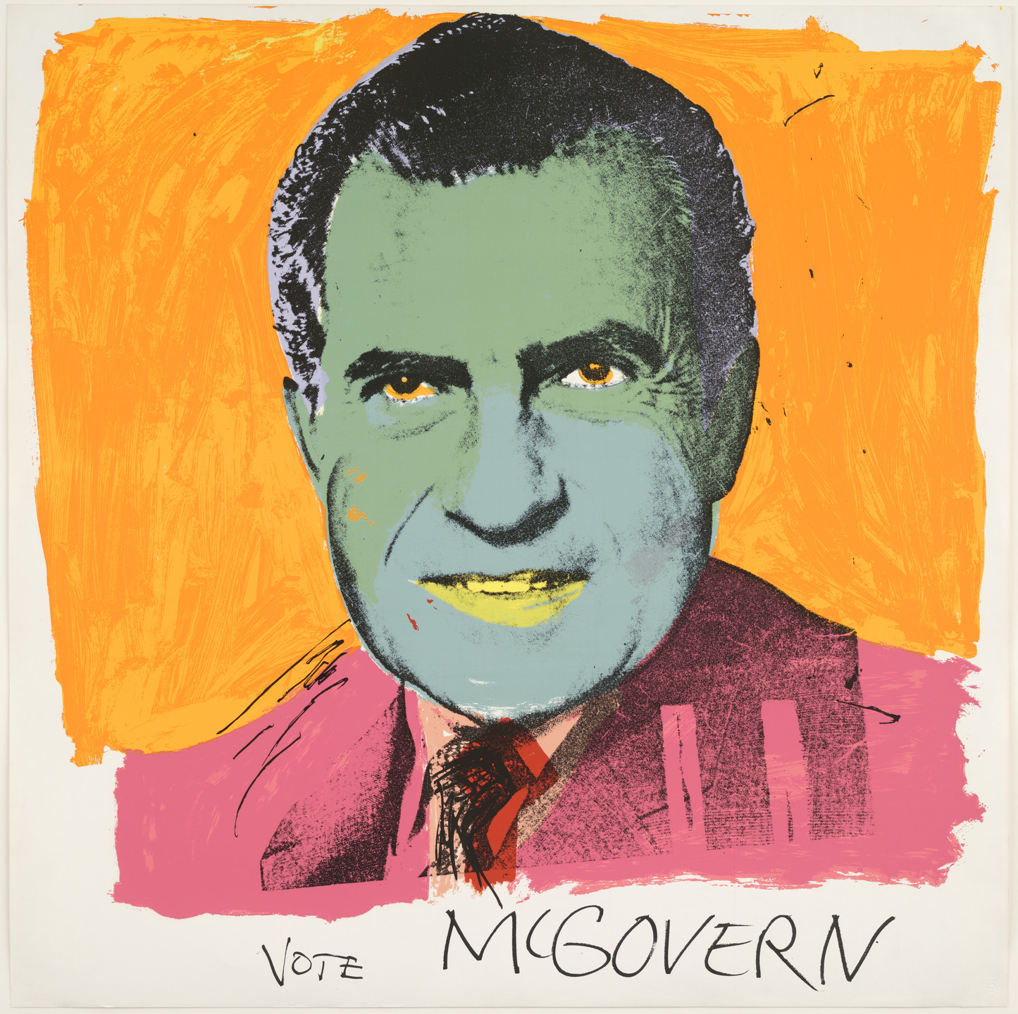 Andy Warhol. Vote McGovern. 1972