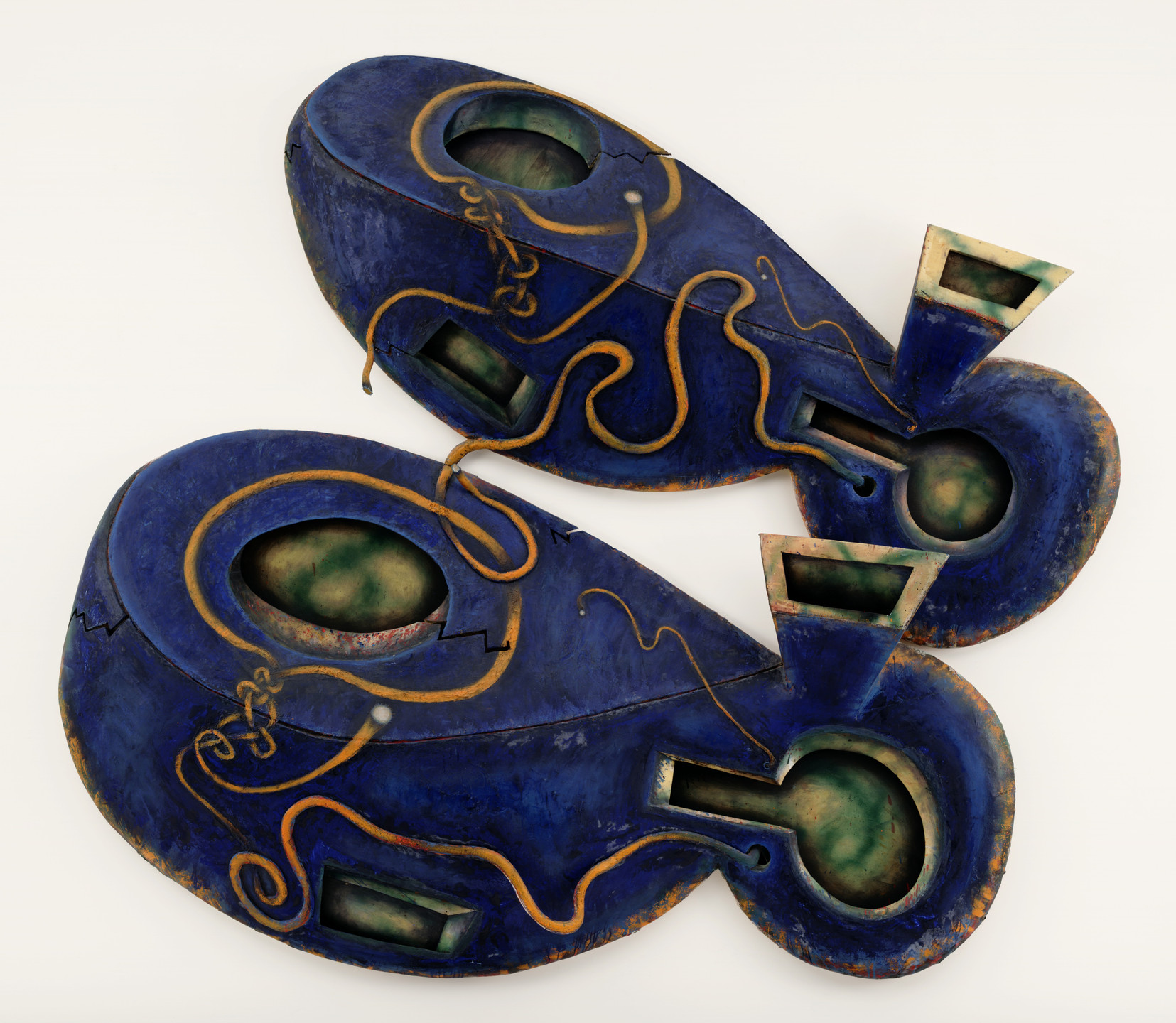 Elizabeth Murray. Dis Pair. fall 1989 - winter 1990