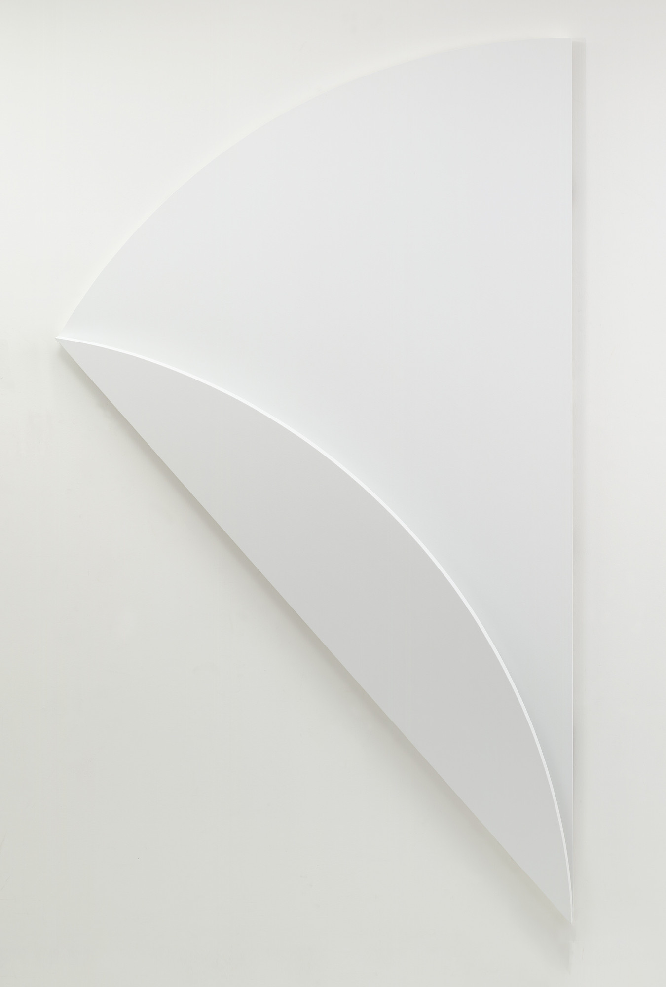 Ellsworth Kelly. White Relief over White. 2003
