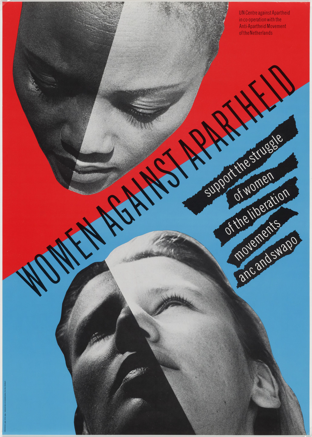 Wild Plakken, Lies Ros, Rob Schroder. Women Against Apartheid. 1984