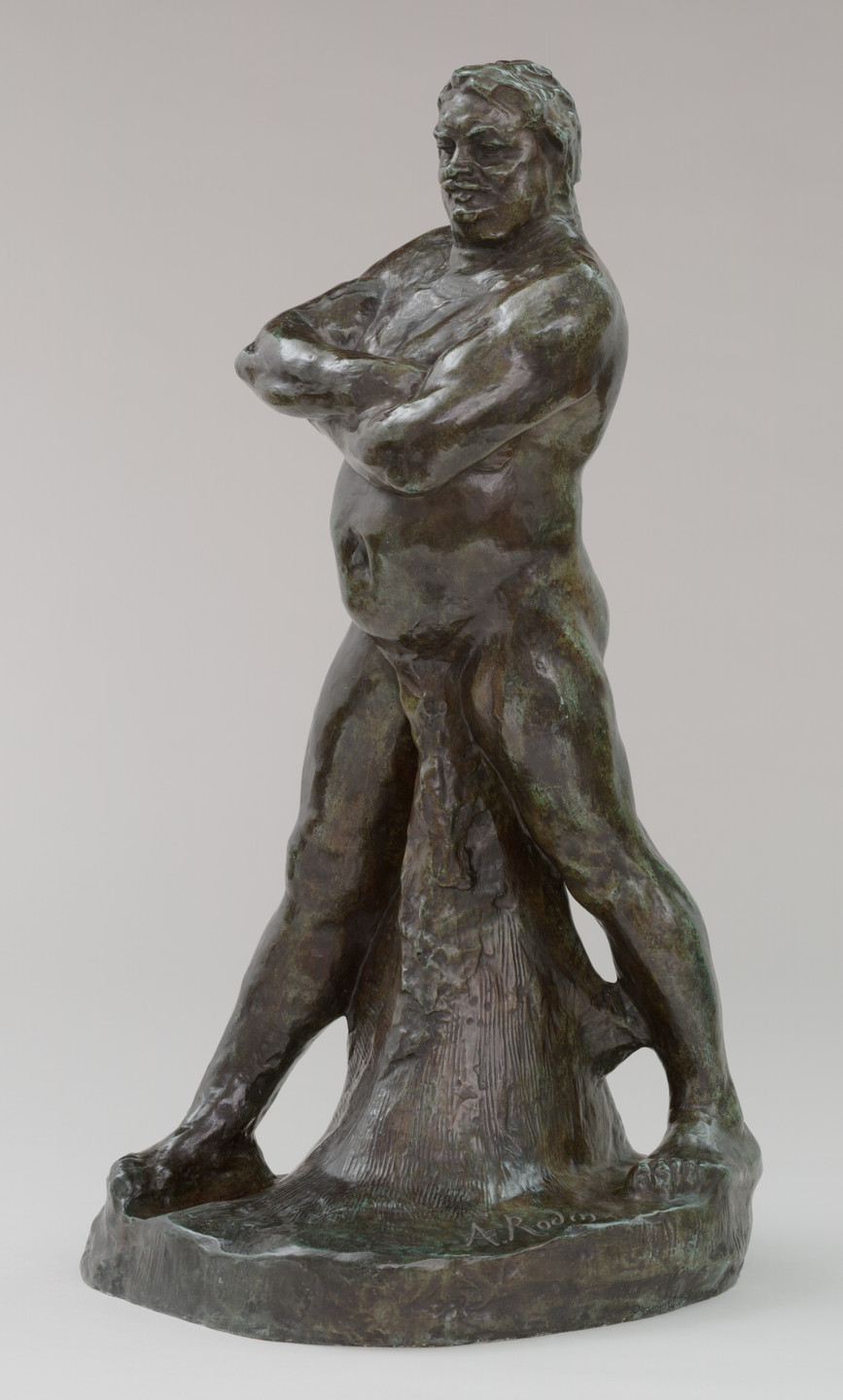 Auguste Rodin. Naked Balzac with Folded Arms. 1892 (cast 1966)