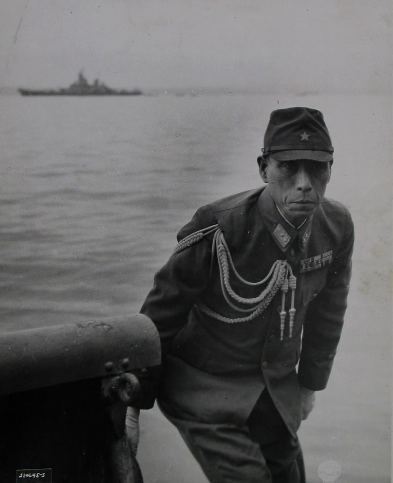 "U.S. Army Signal Corps. ""A Member of the Japanese Delegation"". September 2, 1945"