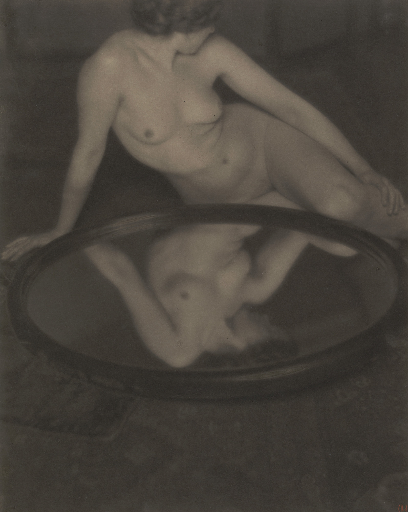 Clarence H. White. Nude. c. 1909