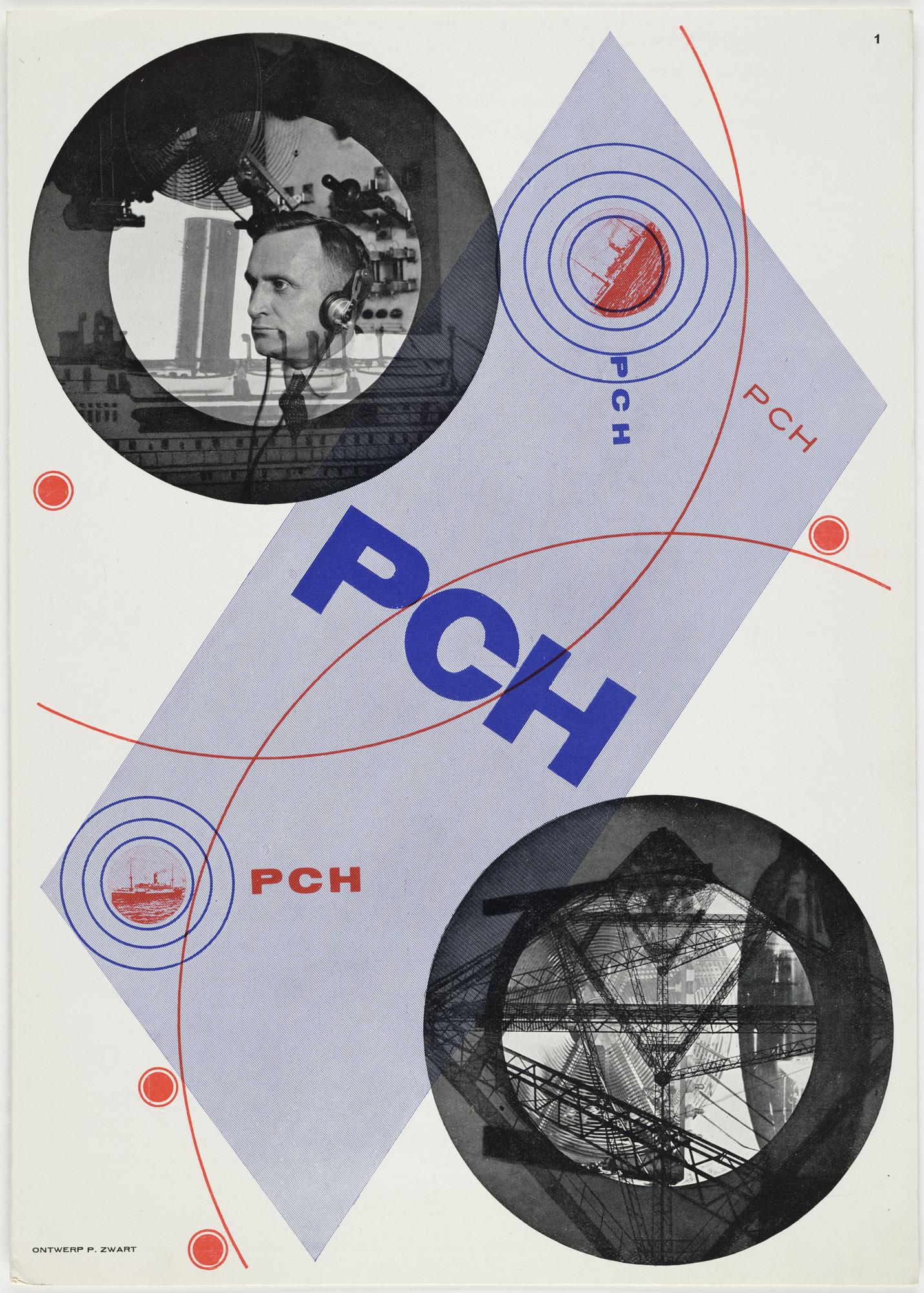 Piet Zwart  PCH  1929 | MoMA