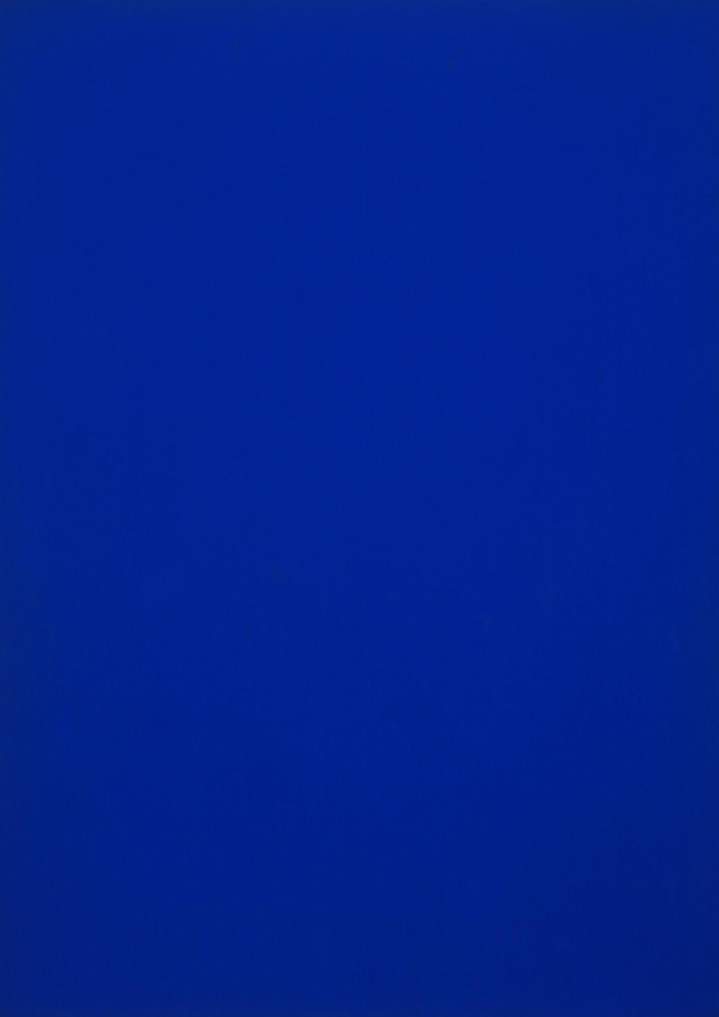 Yves Klein Blue Monochrome 1961