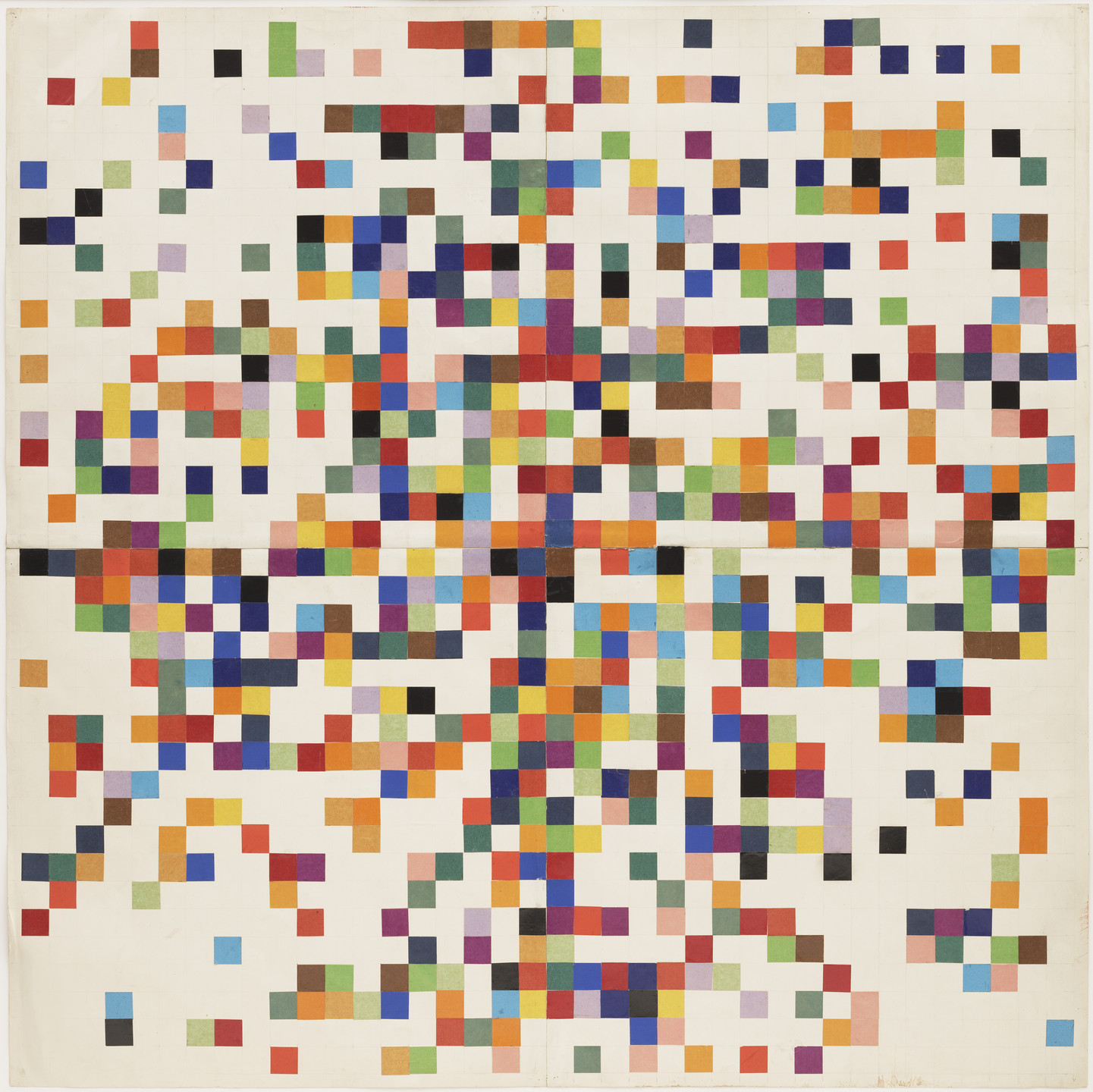 Ellsworth Kelly. Spectrum Colors Arranged by Chance II. 1951