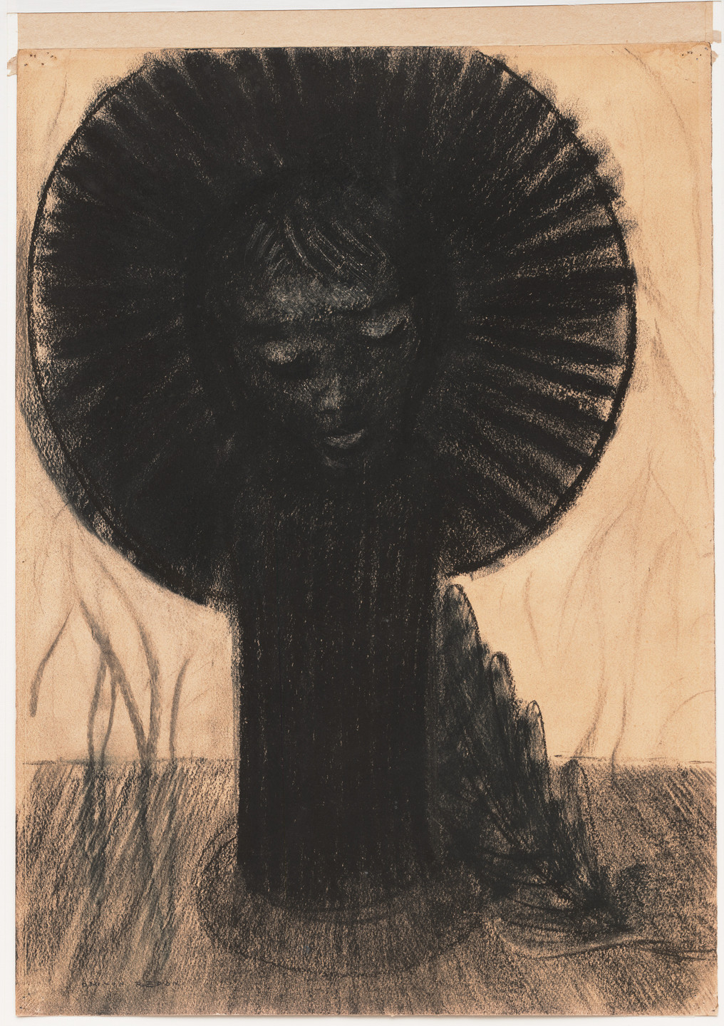 Odilon Redon. Germination. (c. 1890-96)