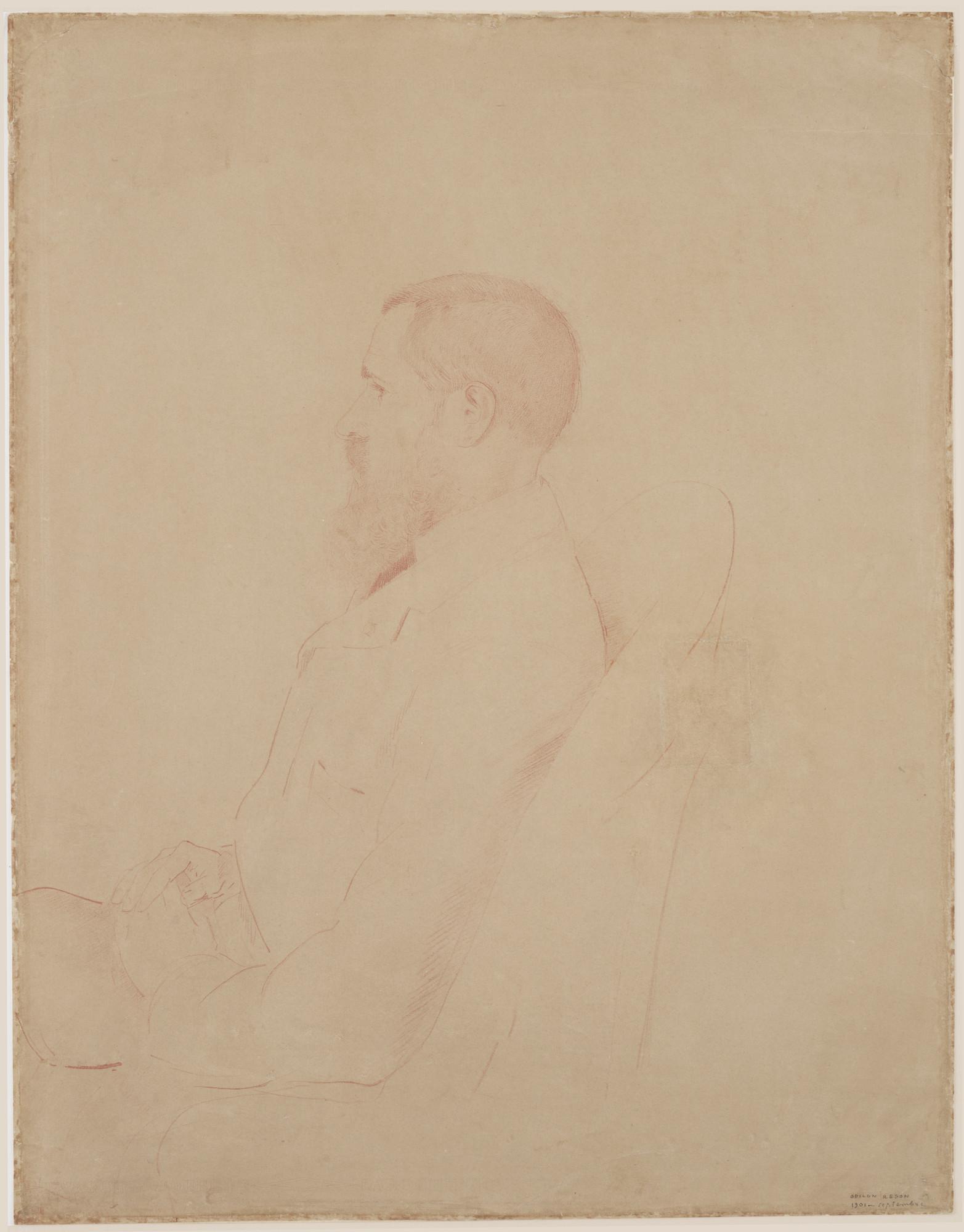 Awesome Odilon Redon Portrait s Joshkrajcik joshkrajcik
