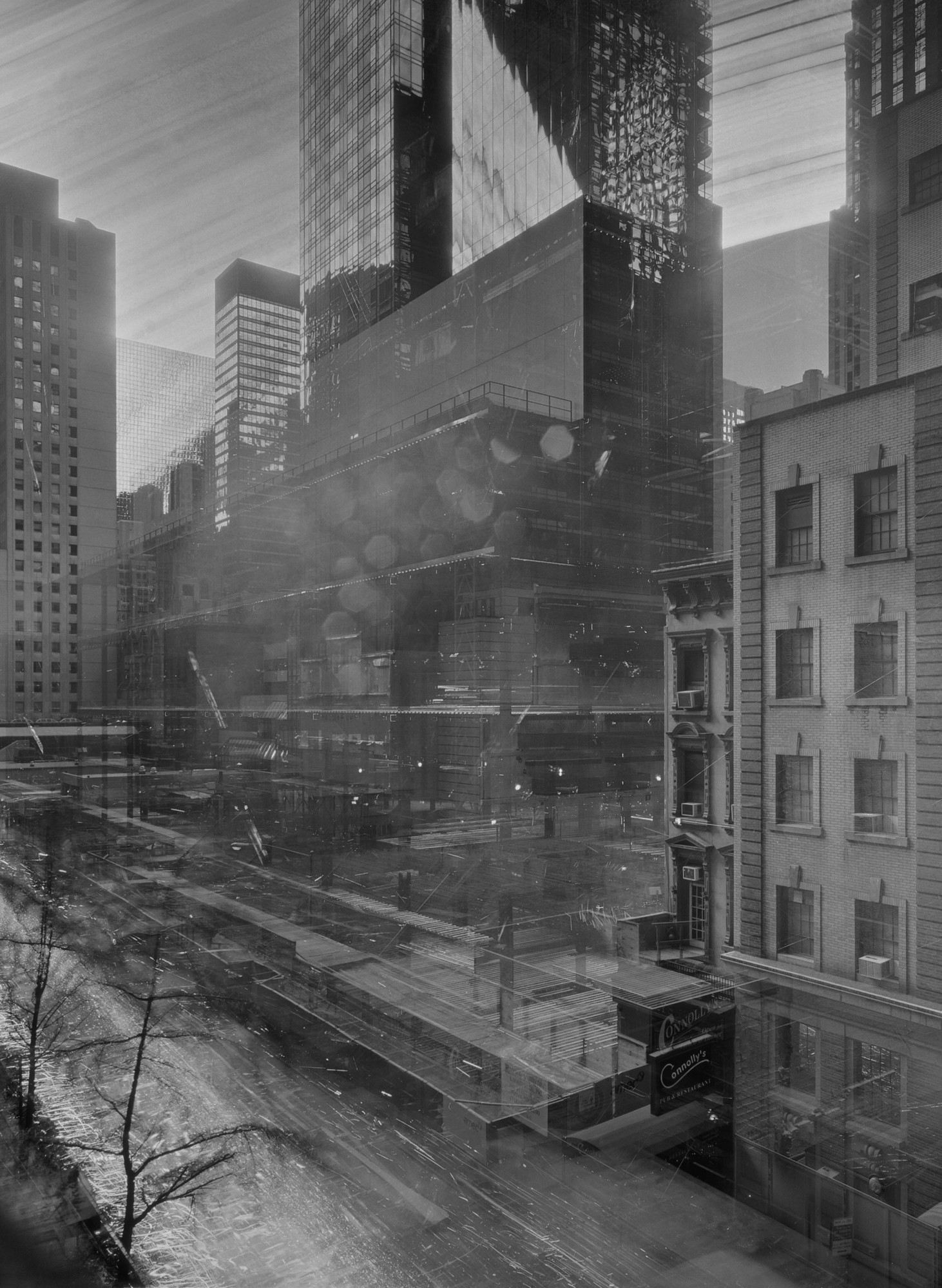 Michael Wesely. 9 August 2001–7 June 2004 The Museum of Modern Art, New York. 2001-04
