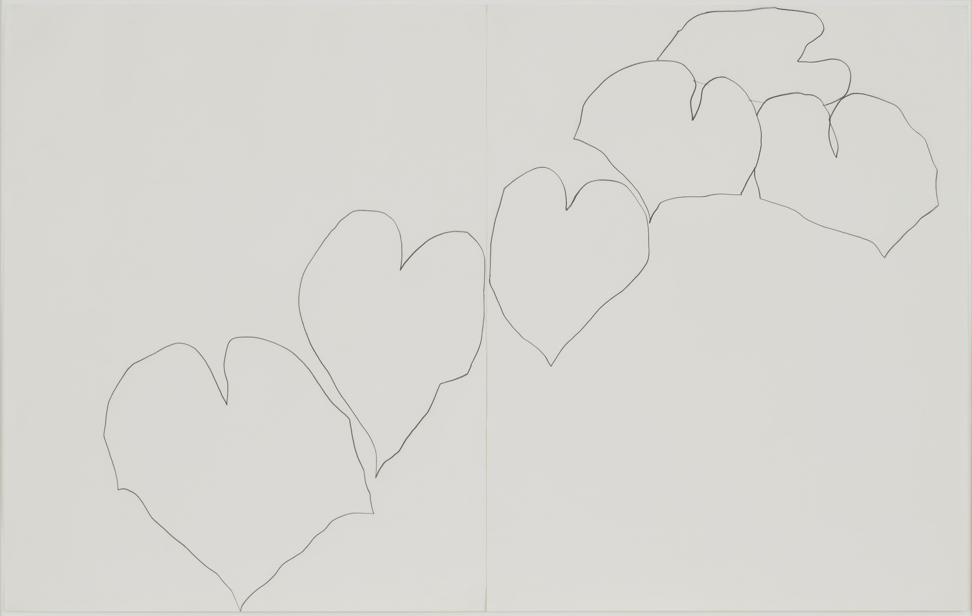Ellsworth Kelly. Wild Grape. (1960)