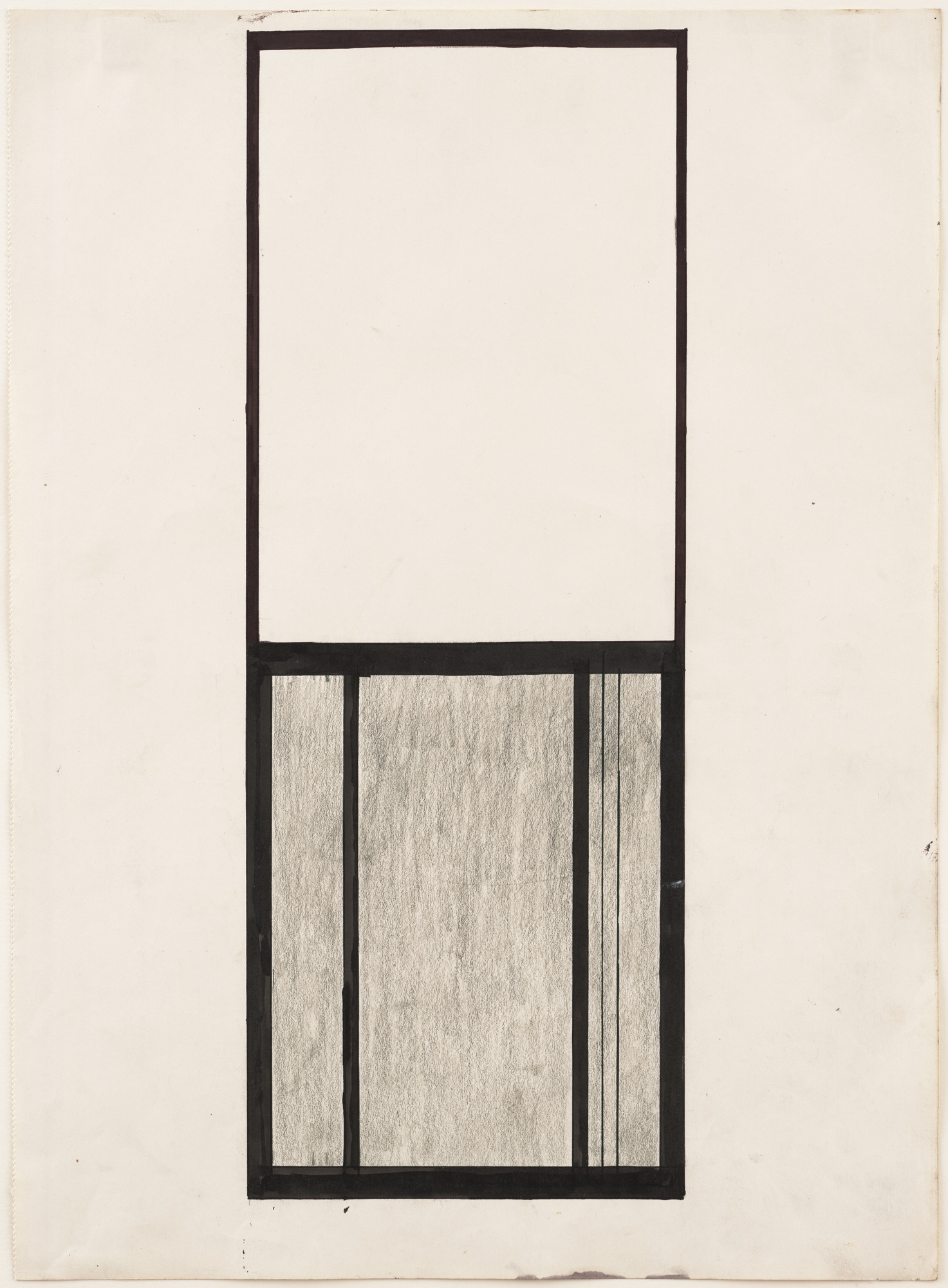Ellsworth Kelly. Study for Window, Museum of Modern Art, Paris. 1949