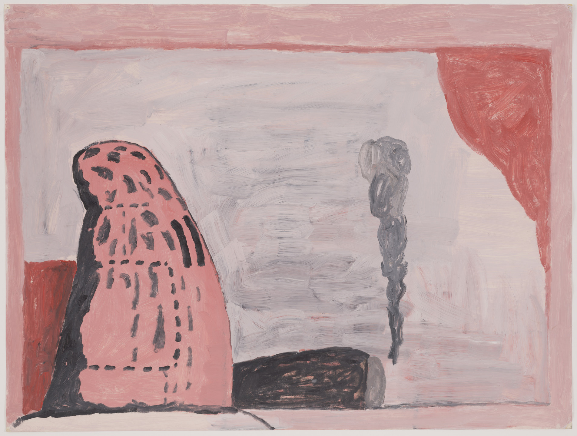 Philip Guston. Untitled (Waiting). 1972