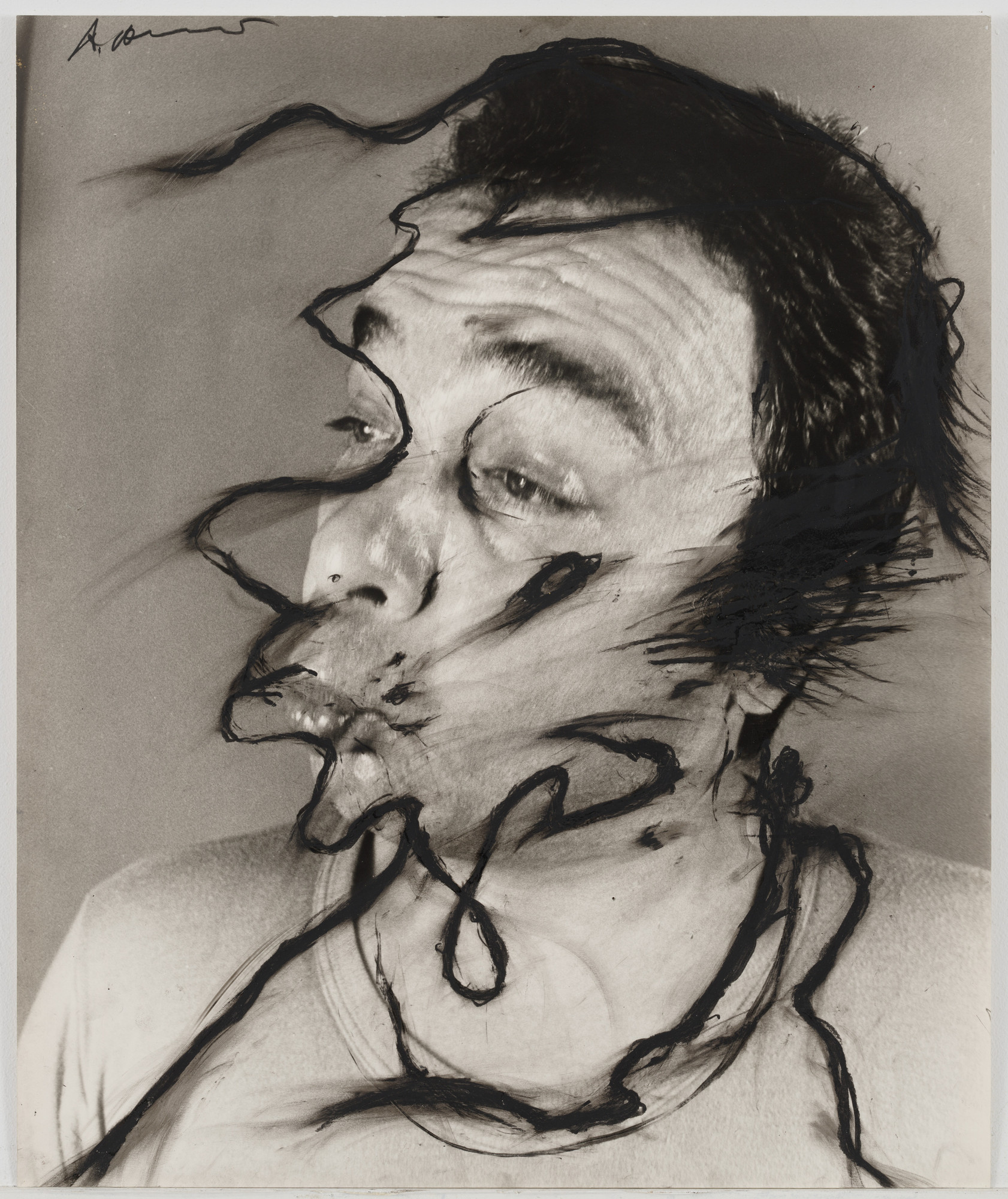 Arnulf Rainer. Untitled. (1969-74)