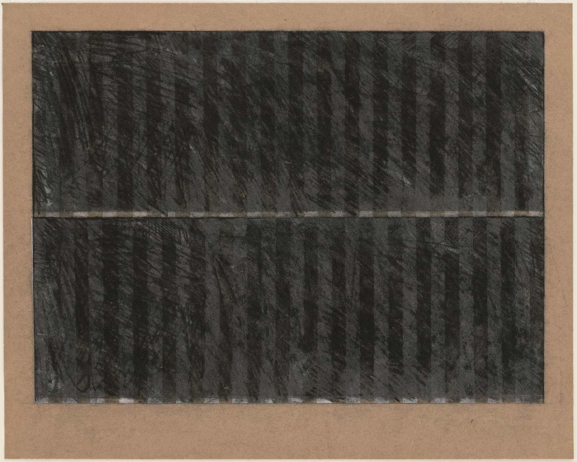 Brice Marden. Untitled. (1965)