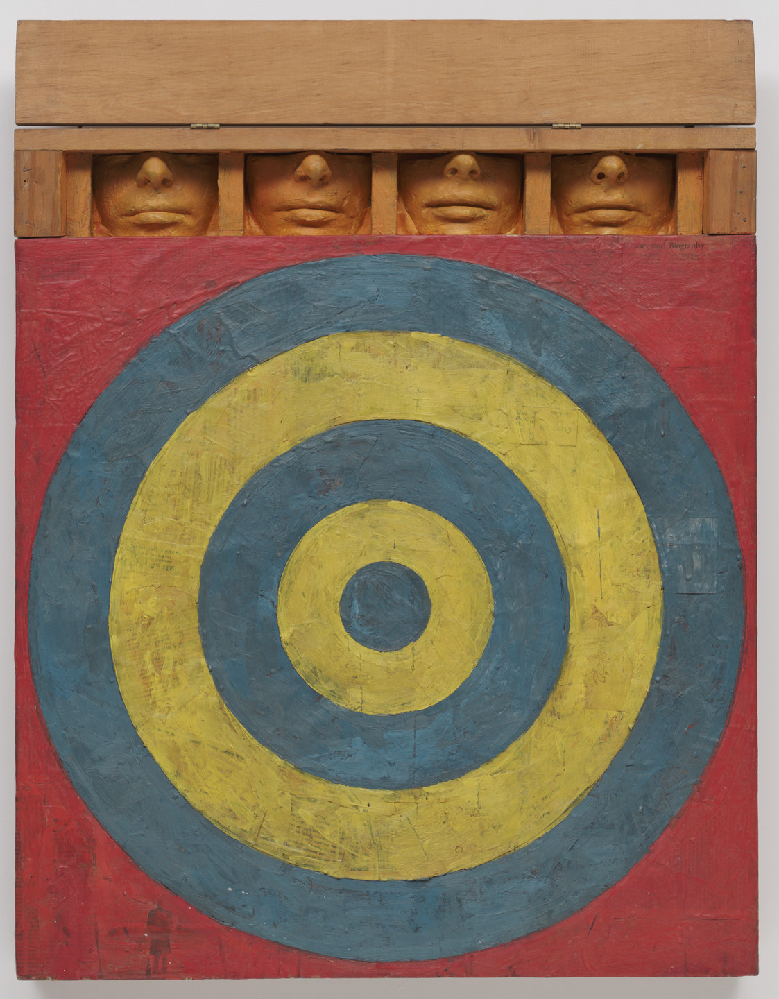 Jasper Johns. Target with Four Faces. 1955