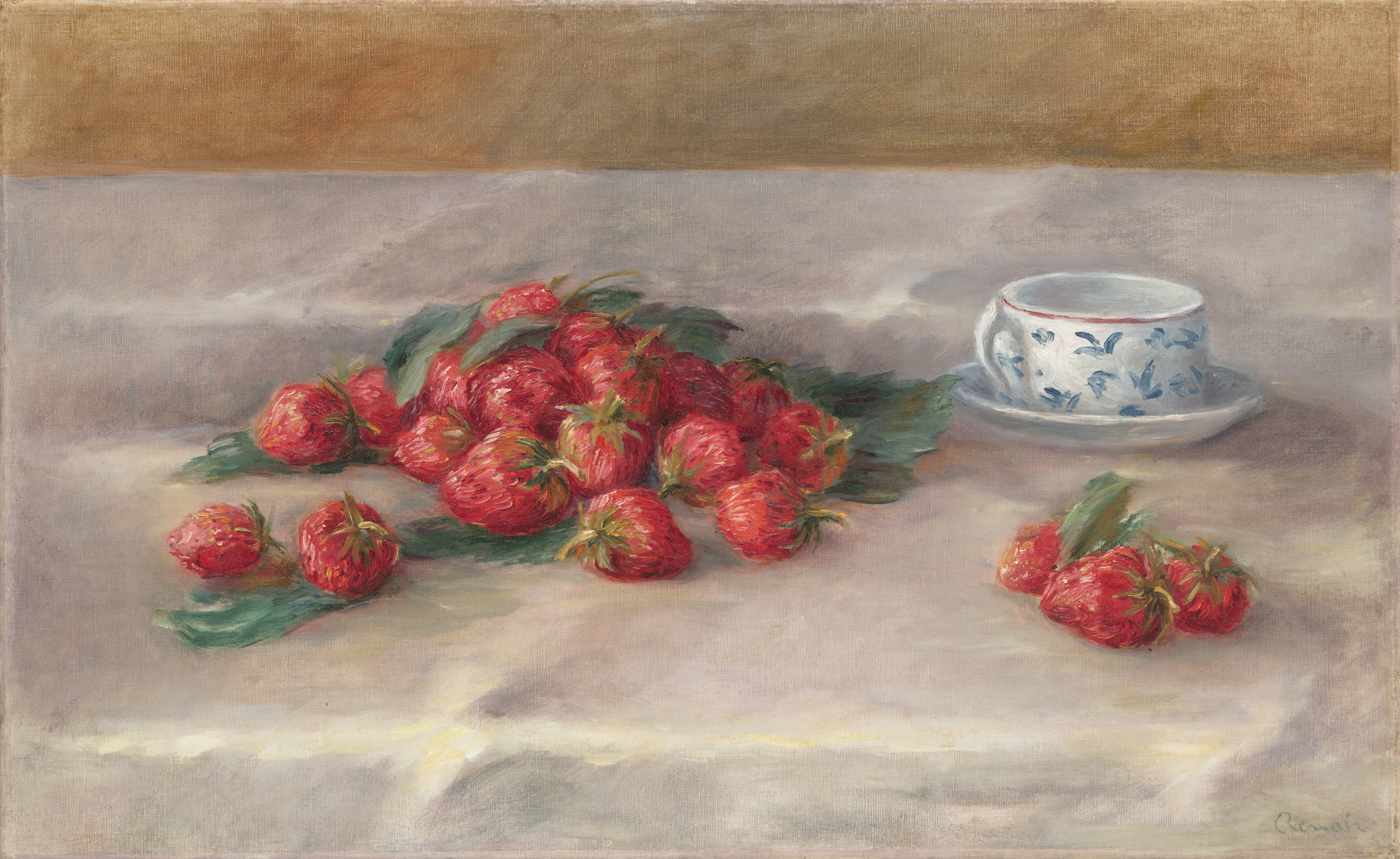 Pierre-Auguste Renoir. Strawberries. c. 1905
