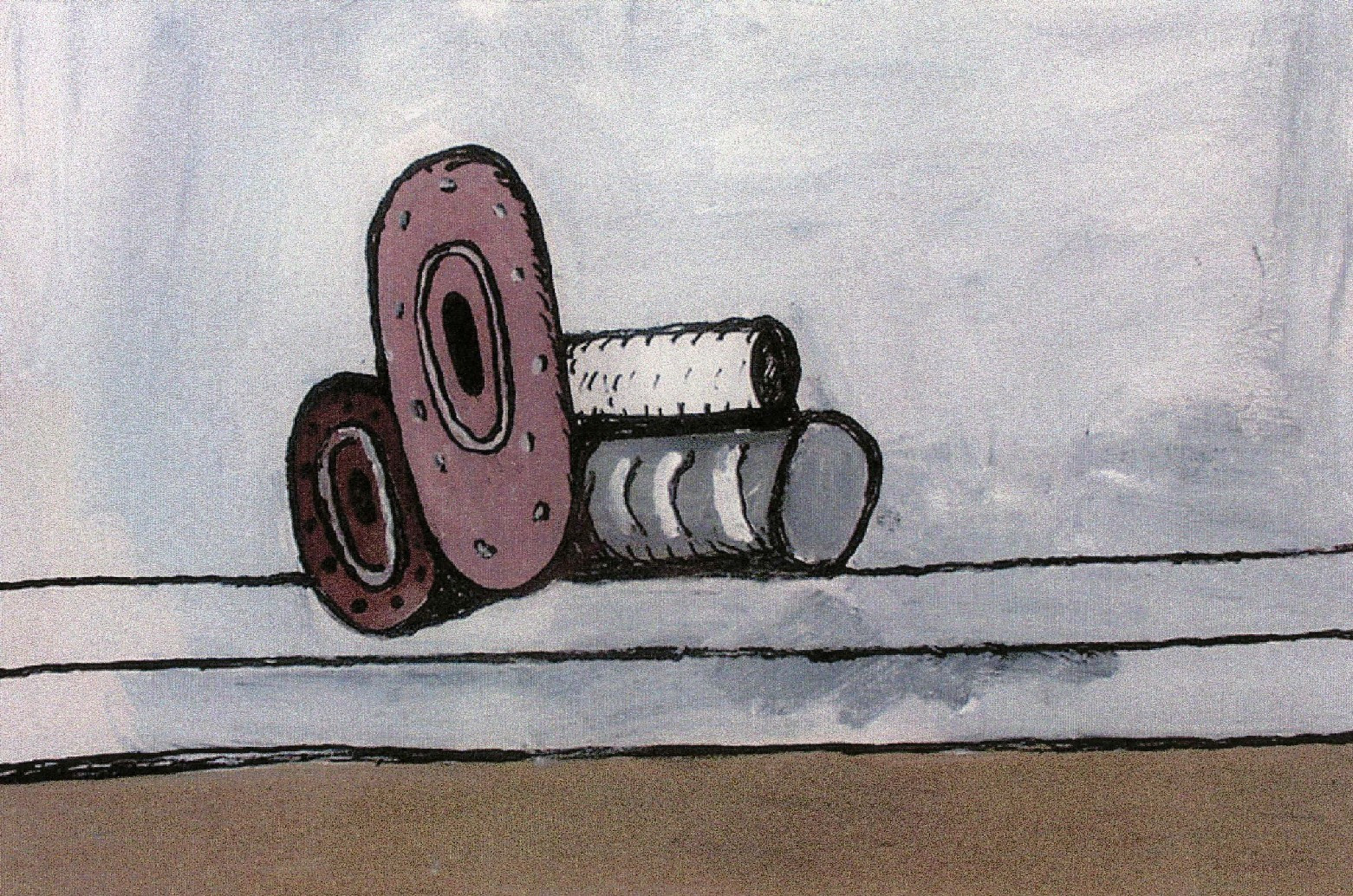 Philip Guston. Untitled. 1980