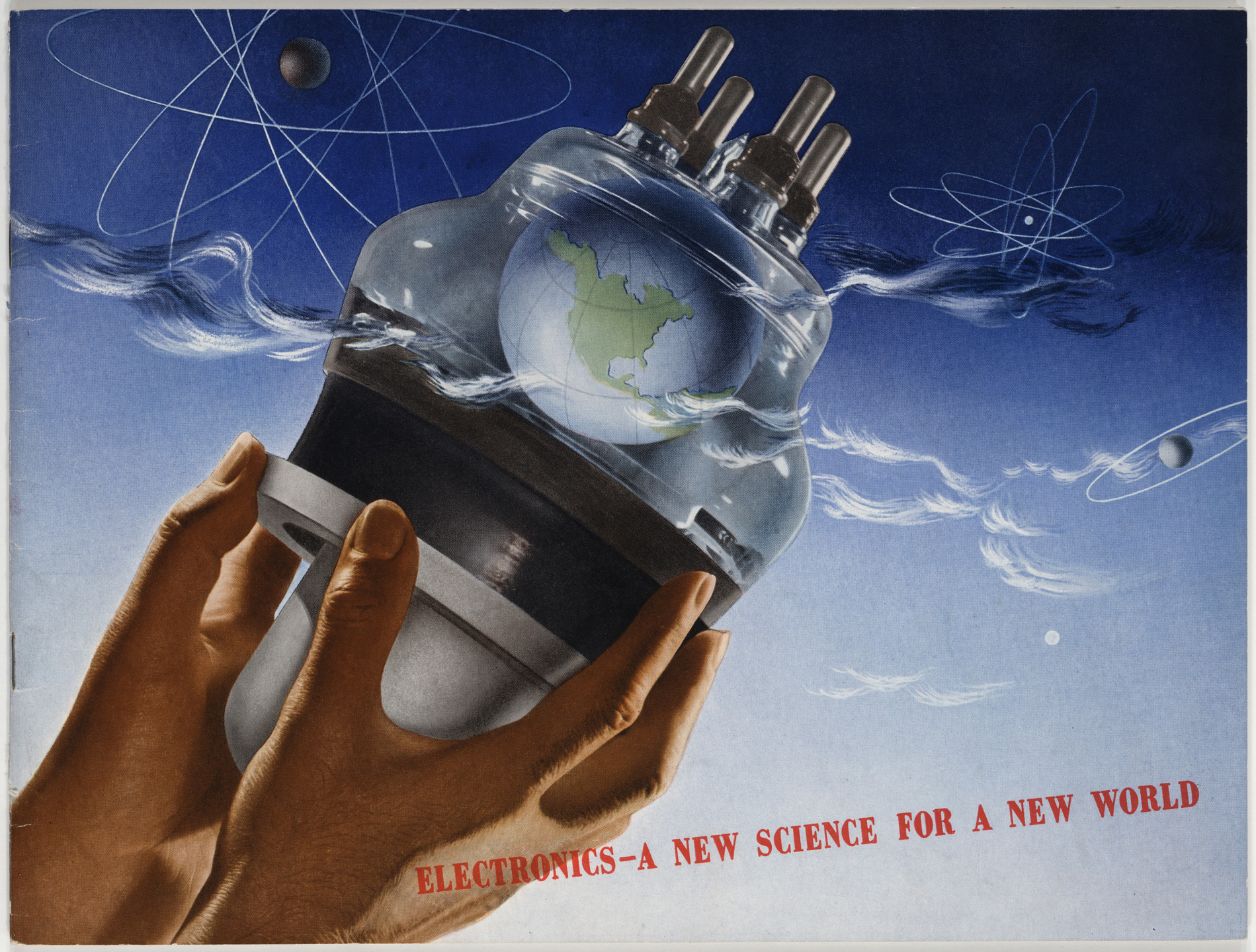Herbert Bayer. Electronics—A New Science for a New World. 1942