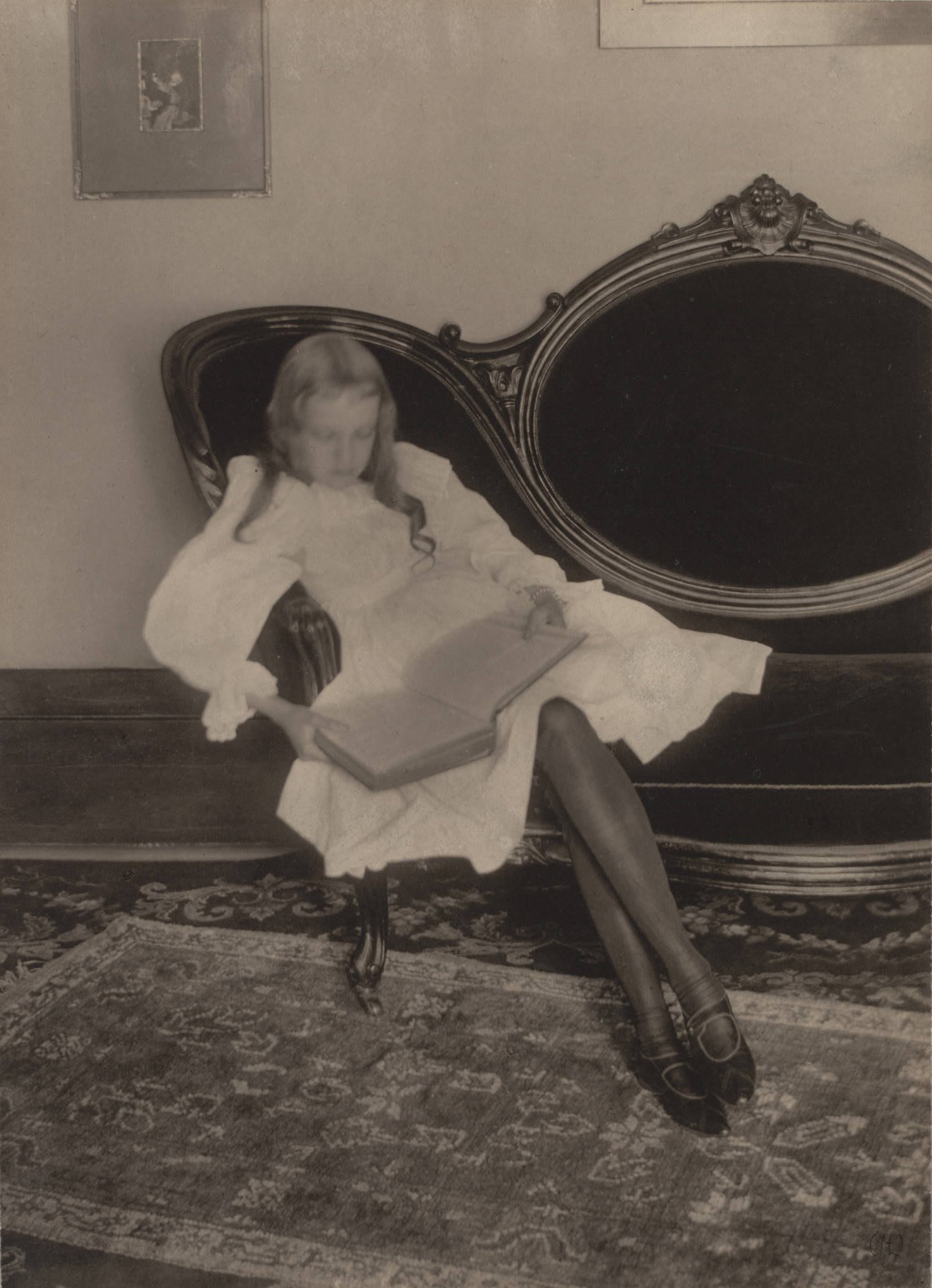 Clarence H. White. Miss Grace. c. 1898