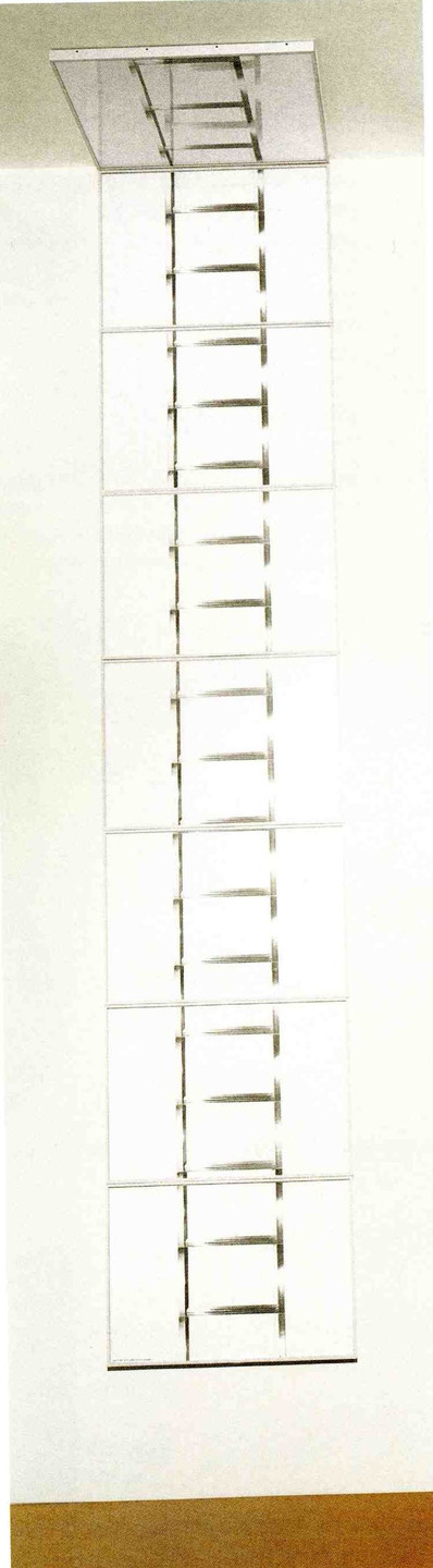 Vito Acconci. 20 Foot Ladder for Any Size Wall. 1979-80