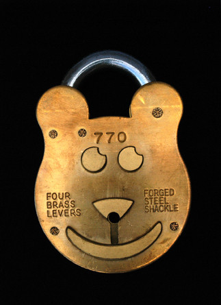 Matthias Megyeri. Billy B. Old English Padlock, from the Sweet Dreams Security series (Prototype). 2003