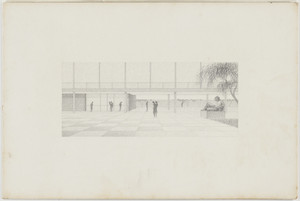 Illinois Institute of Technology, Architecture and Applied Arts Building, Chicago, llinois, Perspective