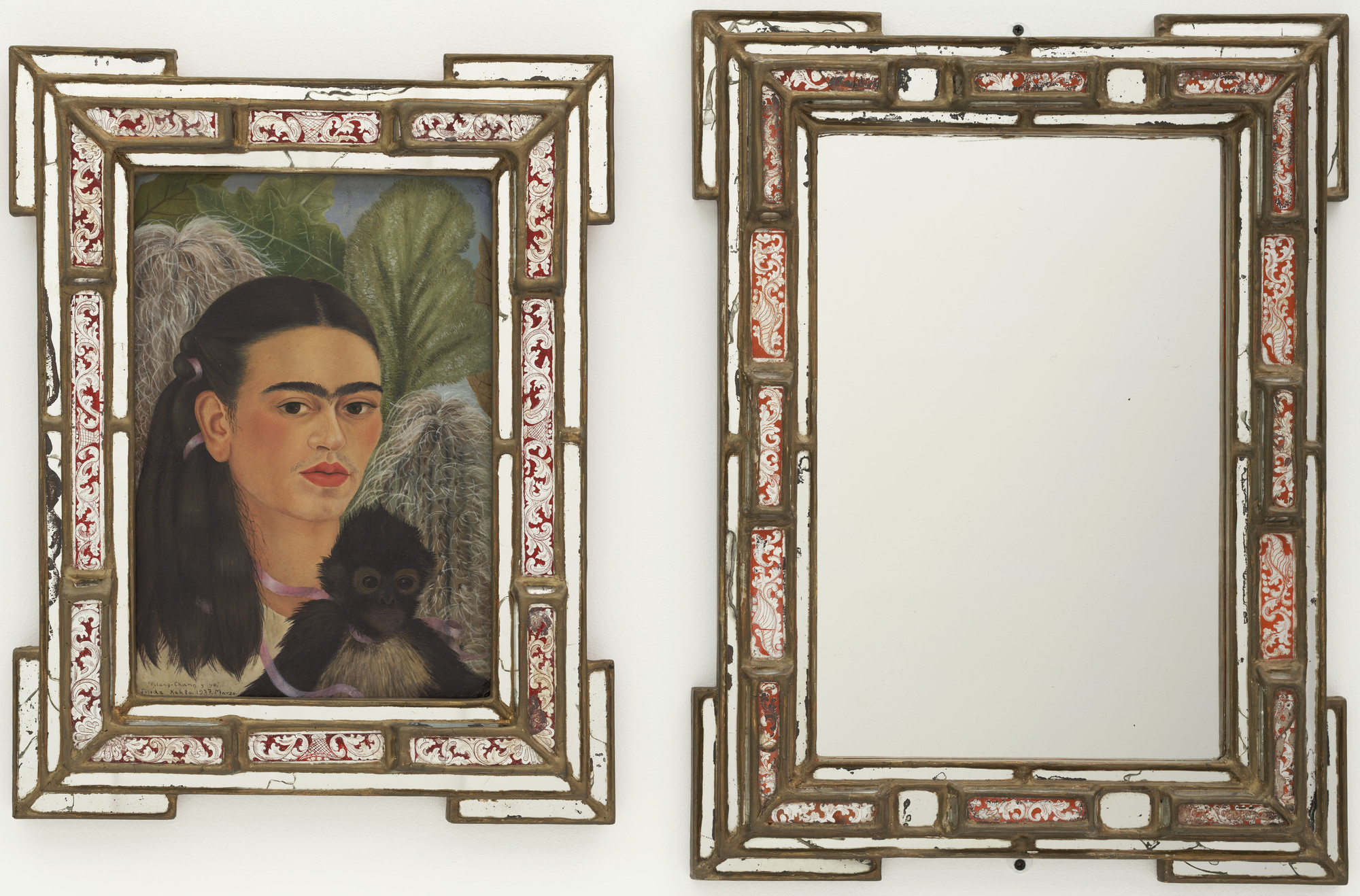 Frida Kahlo. Fulang-Chang and I. 1937 (assembled after 1939)