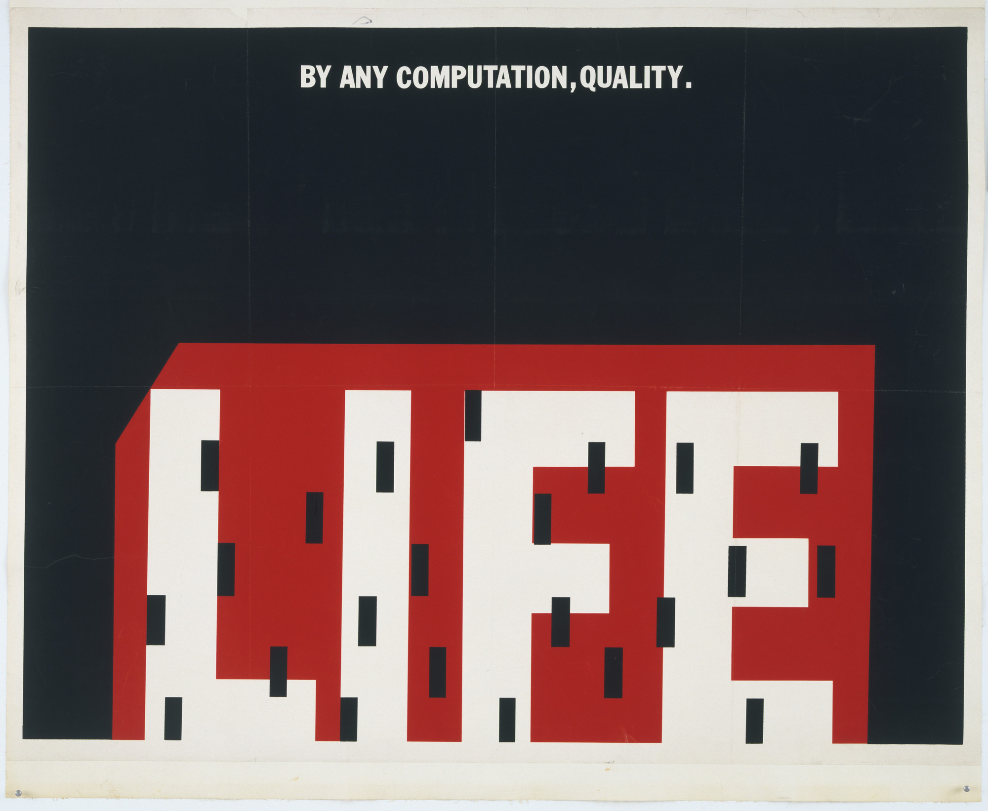 Dennis Wheeler. Life: By any Computation, Quality. 1963