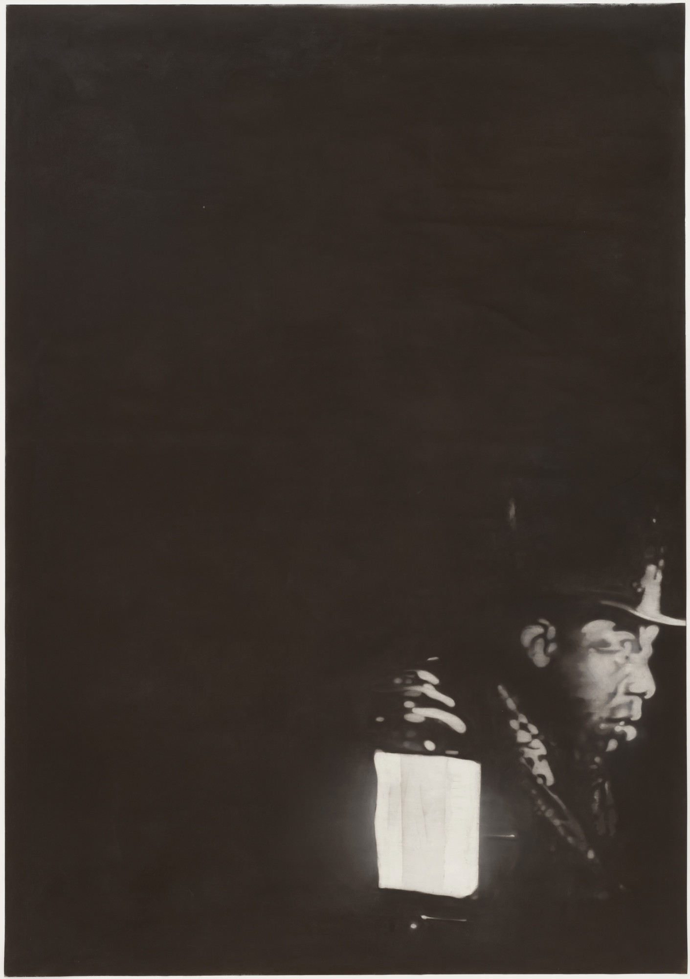 Johannes Kahrs. Untitled (Man with Light). (2004)