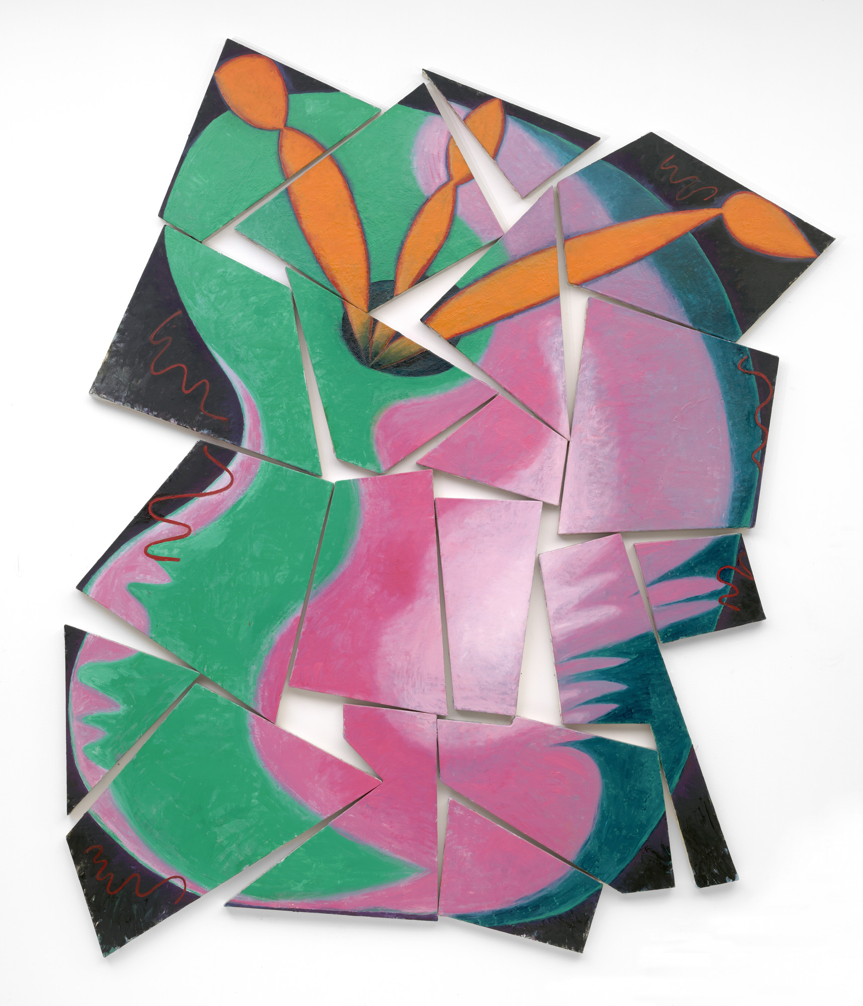 Elizabeth Murray. Painters Progress. spring 1981