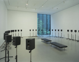 "Janet Cardiff. The Forty Part Motet (A reworking of ""Spem in Alium,"" by Thomas Tallis 1556). 2001"