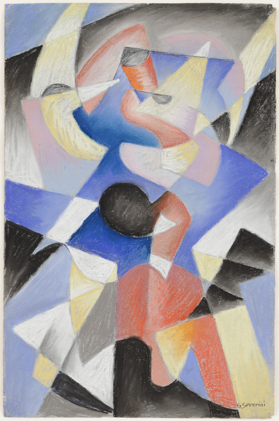 Gino Severini. Dancer. 1912