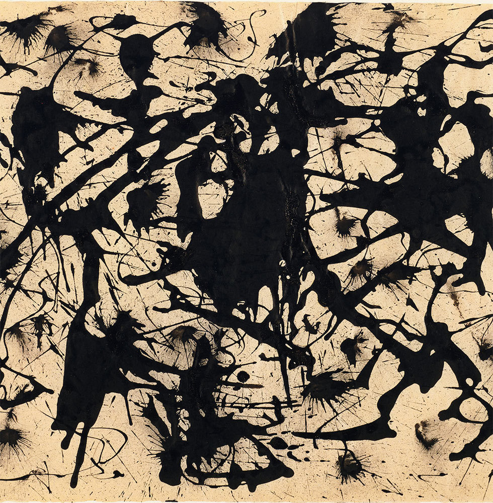 <p>Jackson Pollock: <span class='nowrap'>A Collection</span> Survey, <span class='nowrap'>1934–1954</span></p>