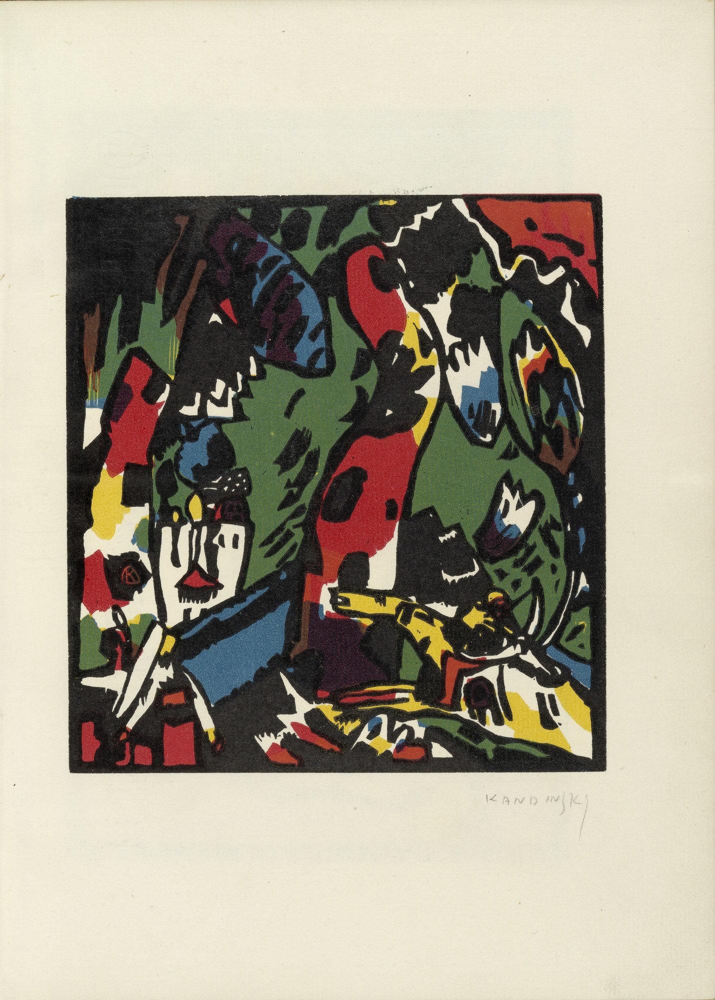 Moma The Collection Vasily Kandinsky The Archer Bogenschütze
