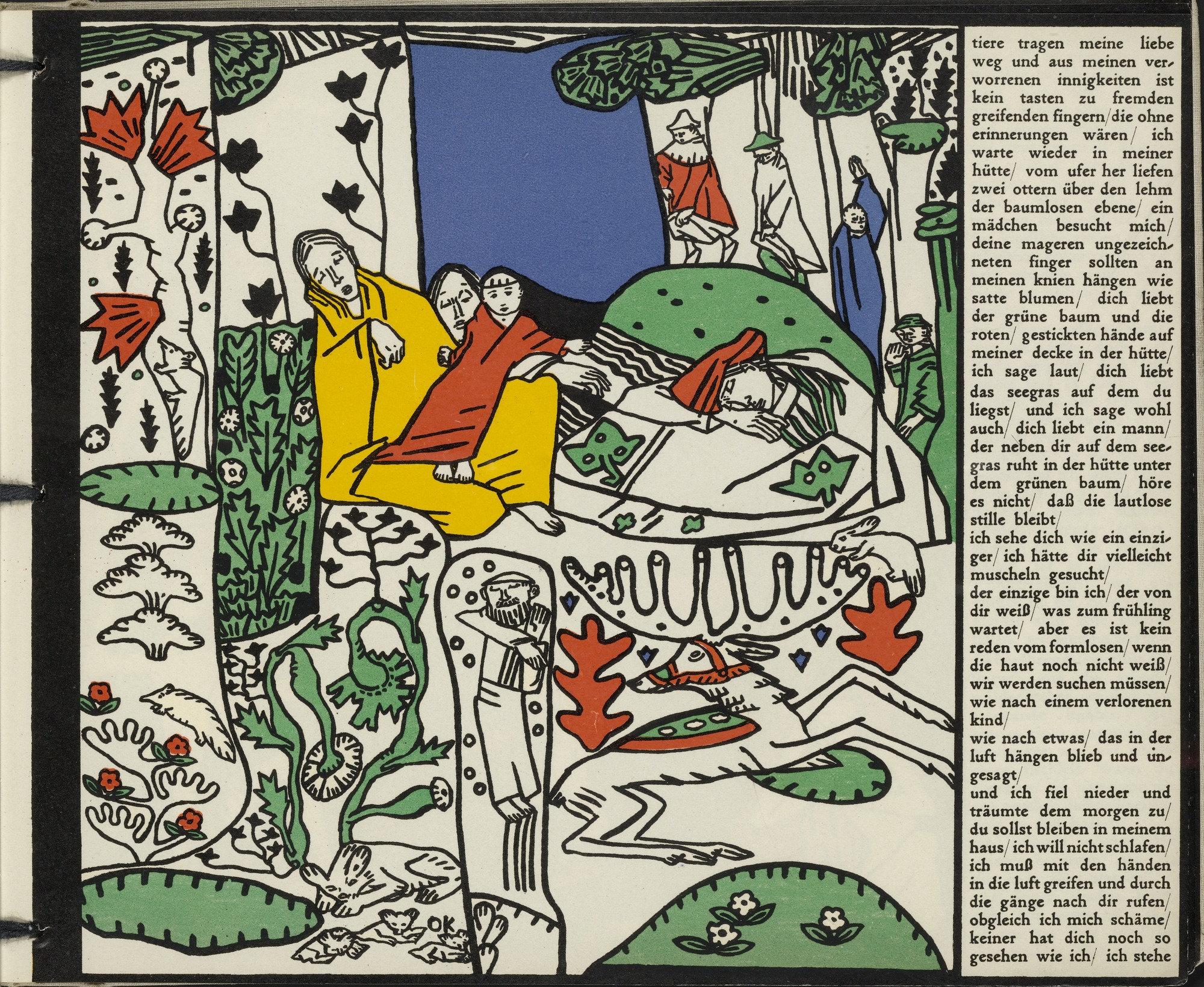 Moma The Collection Oskar Kokoschka The Sleepers Die