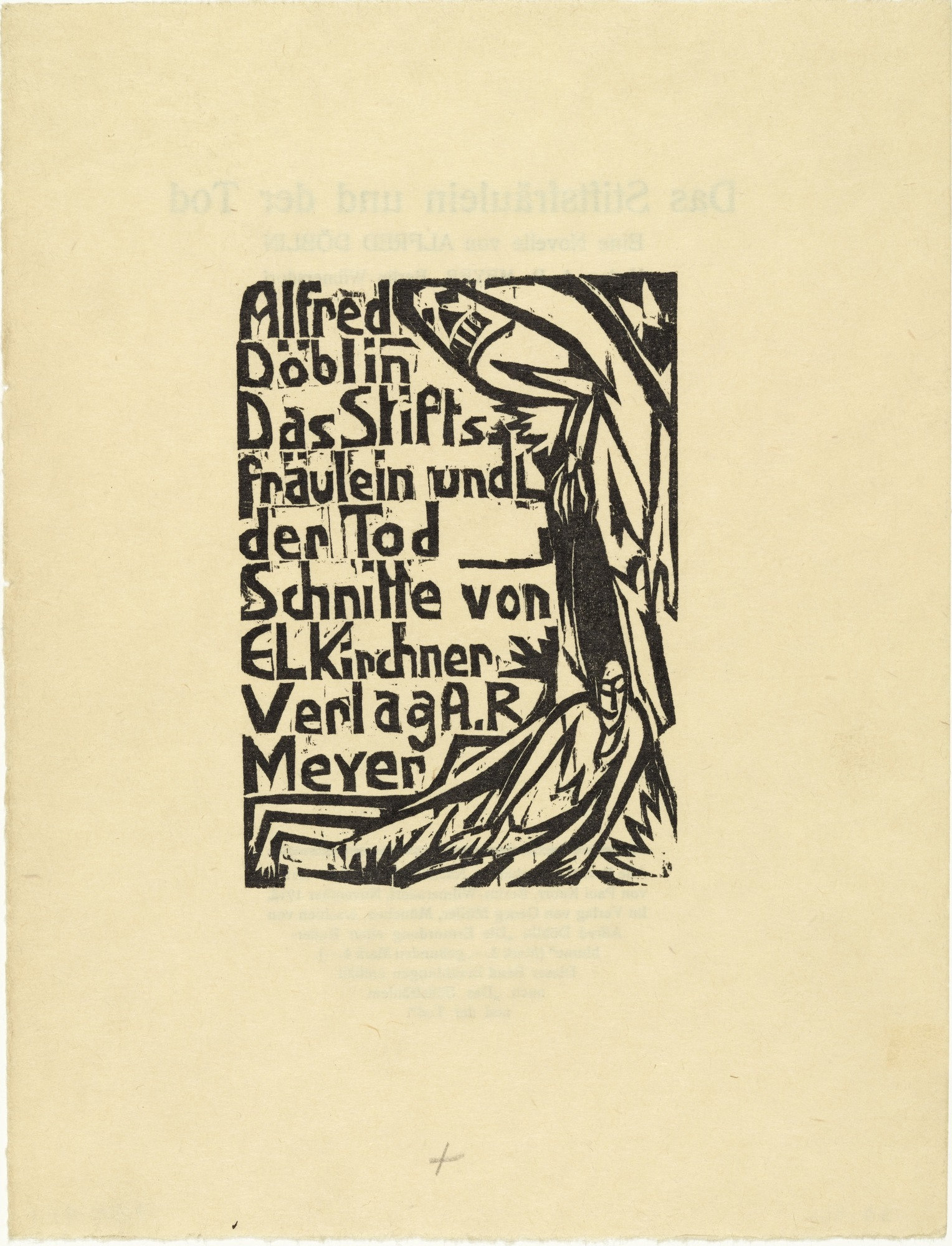 Moma The Collection Ernst Ludwig Kirchner Title Page