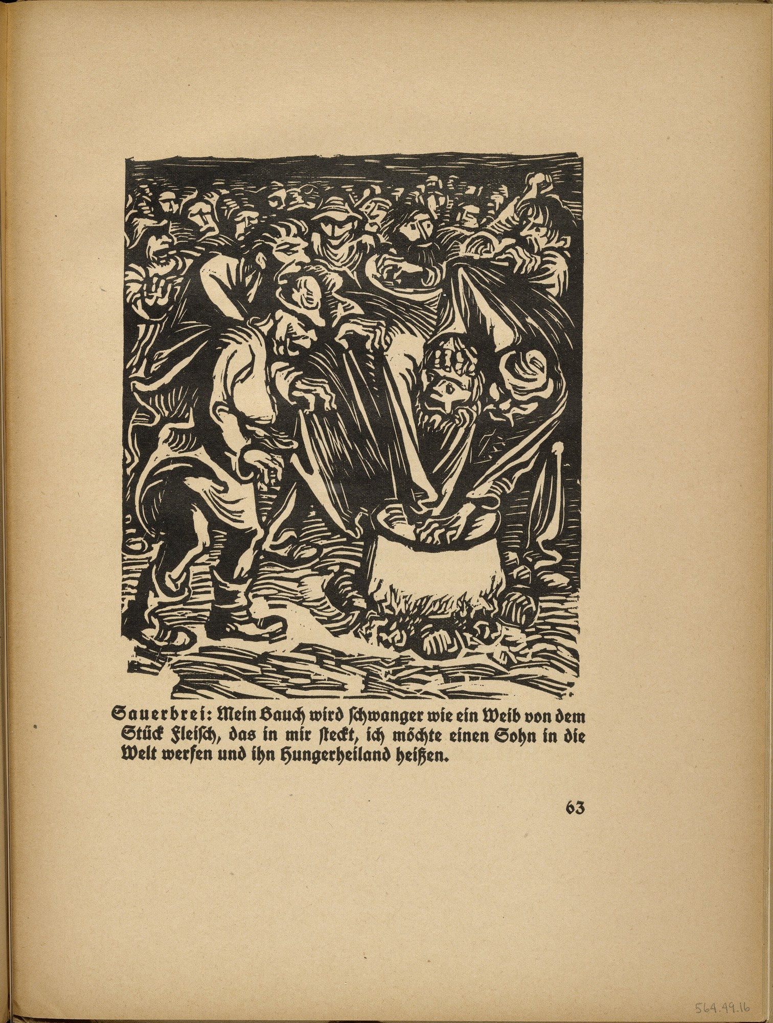 MoMA | The Collection | Ernst Barlach. The Cauldron (Der Kessel) (in ...