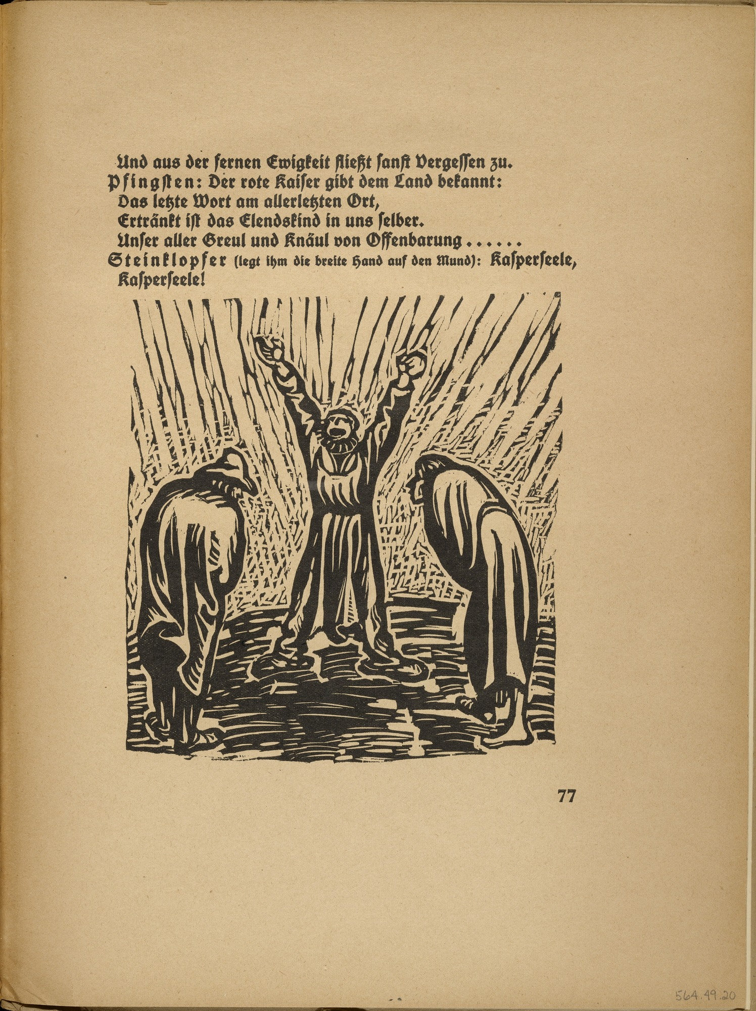 MoMA | The Collection | Ernst Barlach  Away with the Word of