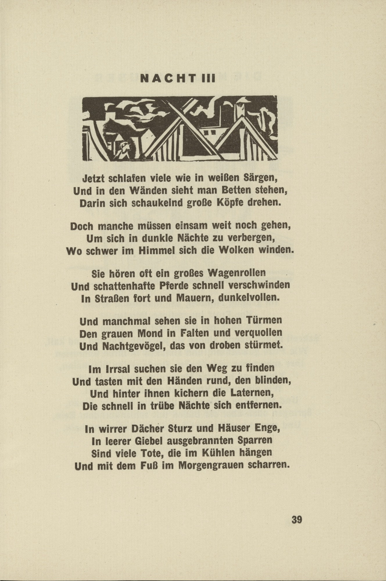 MoMA   The Collection   Ernst Ludwig Kirchner. Night III (Nacht III ...