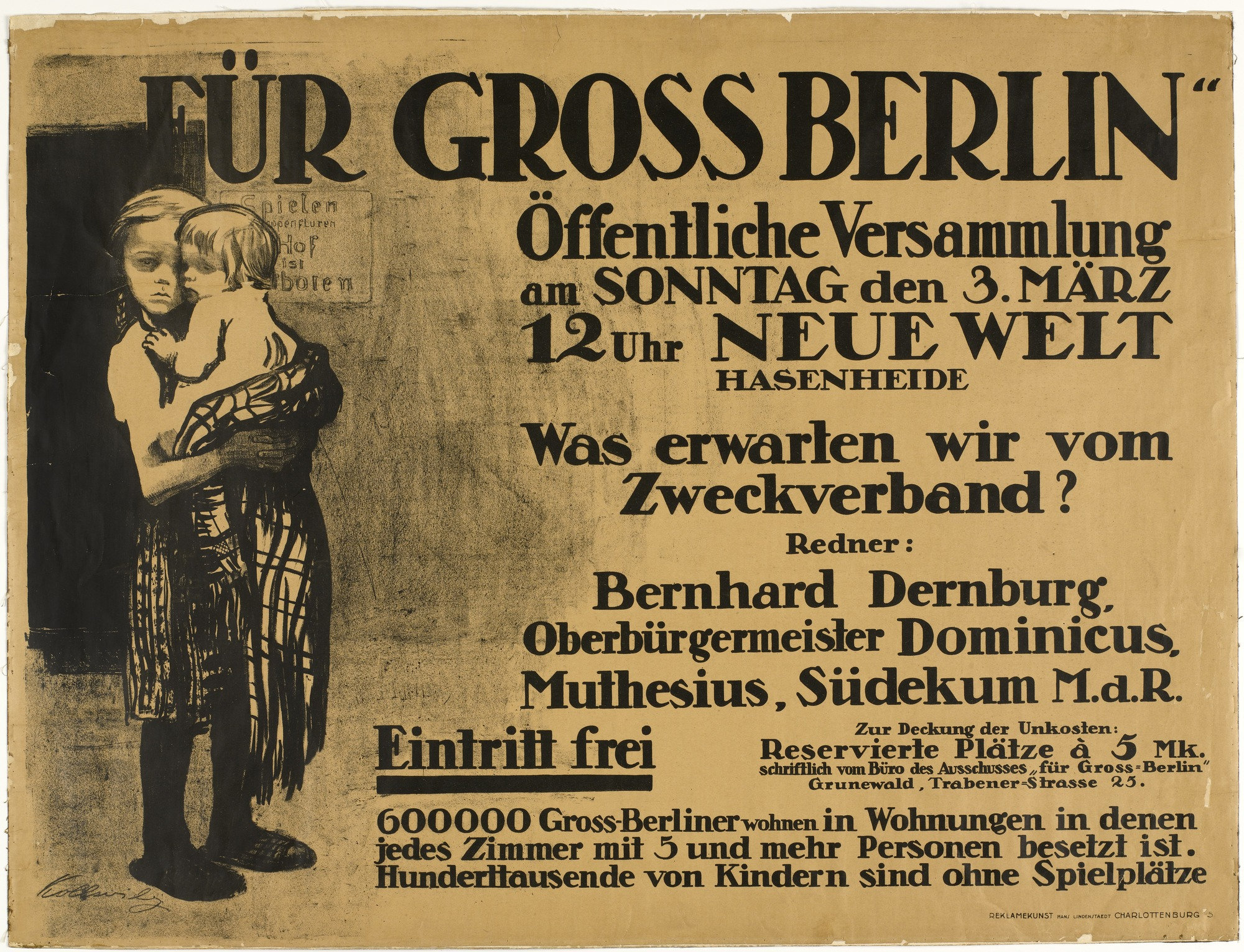 Gross Berlin moma the collection käthe kollwitz for greater berlin für