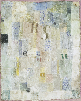 MoMA | The Collection | Paul Klee. Vocal Fabric of the Singer Rosa ...