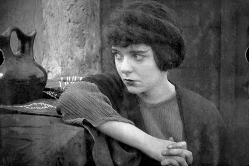 Blanche Sweet in <i>Judith of Bethulia.</i> 1914. USA. Directed by D. W. Griffith. Acquired from the artist