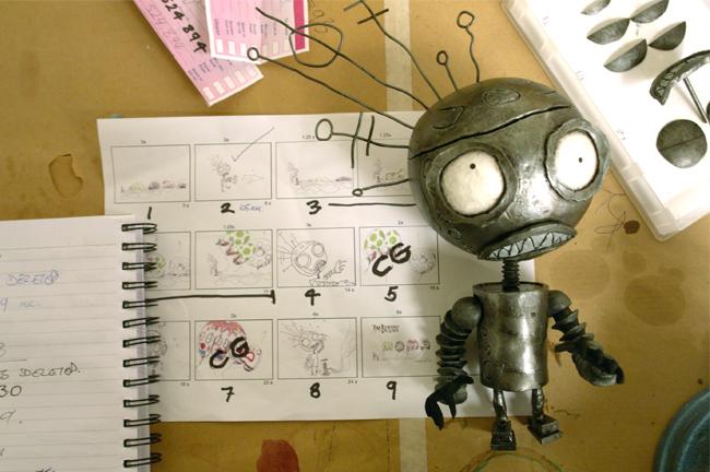 Robot & Storyboard