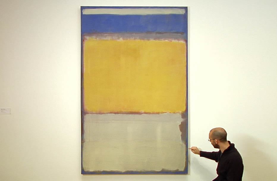 Independent conservator and instructor corey daugustine talks about mark rothkos painting techniques in the online course materials and techniques of