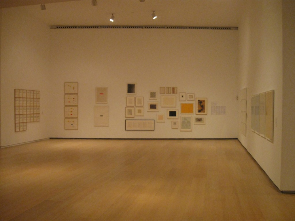 "Installation view of ""Compass in Hand"" at IVAM, October 2010"
